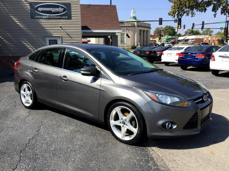 Ford Focus Titanium Sedan 2013