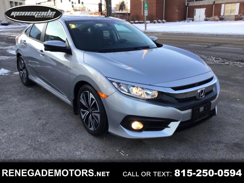 Honda Civic EX-T Sedan CVT 2016