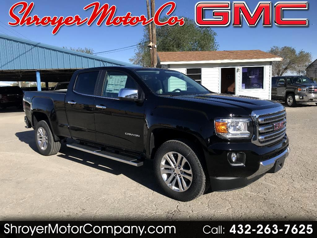 2018 GMC Canyon SLT Crew Cab 4WD Long Box