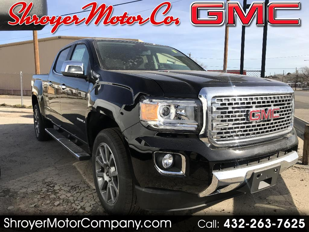 2018 GMC Canyon Denali Crew Cab 4WD Long Box