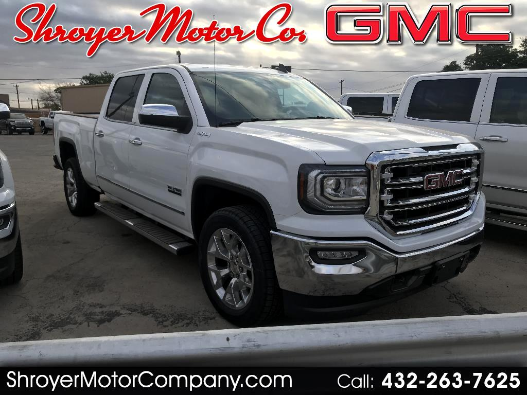 2018 GMC Sierra 1500 SLT Crew Cab Long Box 4WD