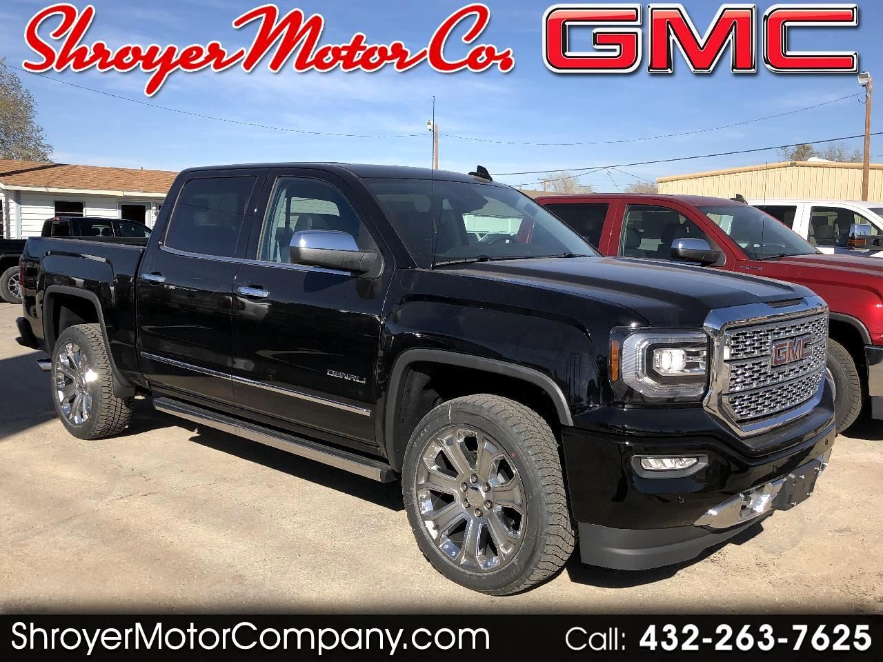 2018 GMC Sierra 1500 Denali Crew Cab Long Box 4WD