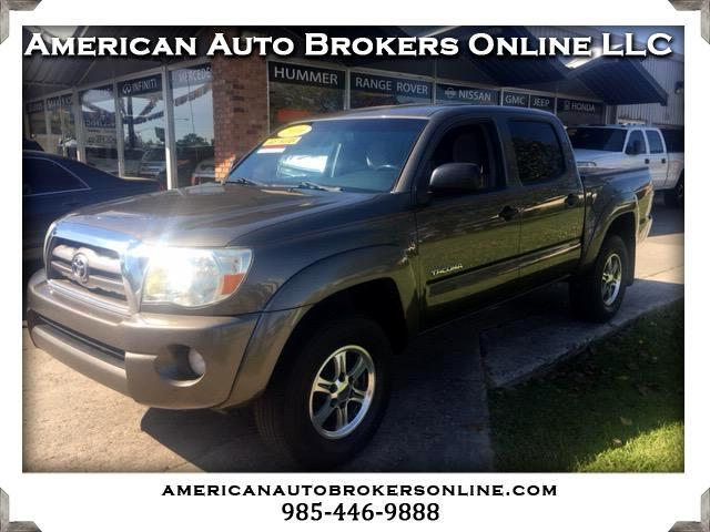 2010 Toyota Tacoma PRERUNNER DOUBLE CAB 2WD CLEAN AUTO CHECK!!!