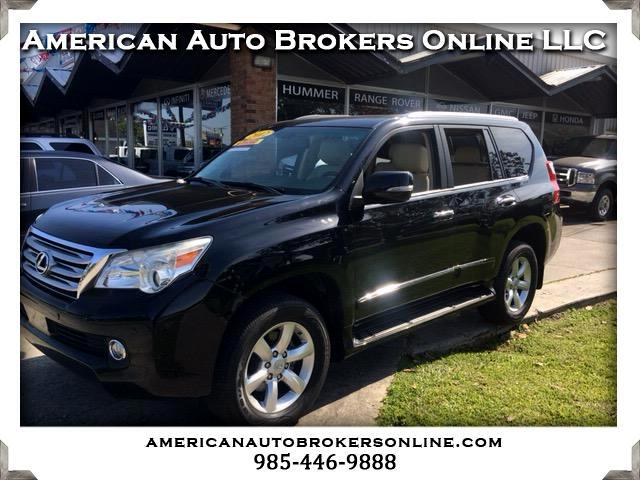 2012 Lexus GX 460 4WD SUV LEATHER ROOF REAR DVD LOADED CLEAN AUTO CH
