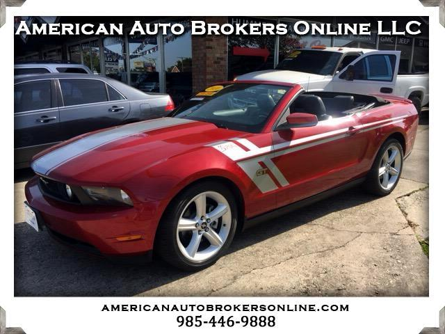 2010 Ford Mustang GT V8 CONVERTIBLE LEATHER CLEAN AUTO CHECK ONE OWN