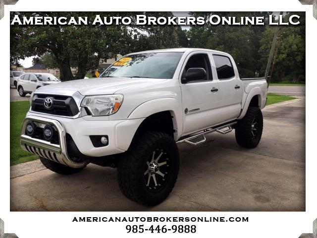 2013 Toyota Tacoma 4WD Double Cab V6 AT SR5 (Natl)