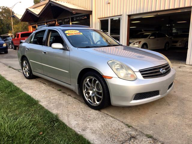 2006 Infiniti G35 SEDAN ALLOY RIMS LEATHER ROOF ONE OWNER!!!