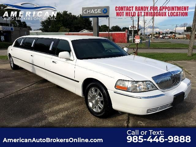2009 Lincoln Town Car EXECUTIVE LIMO BY DABRYAN COACH (6 UNITS AVAILABLE