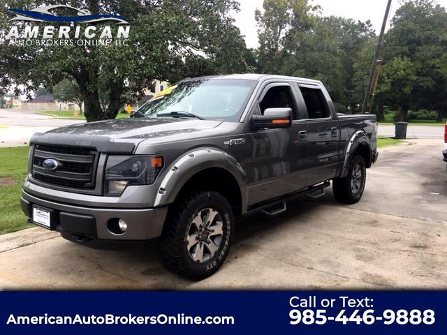 2013 Ford F-150 FX4 SUPERCREW 5.0L LEATHER LOADED!!!