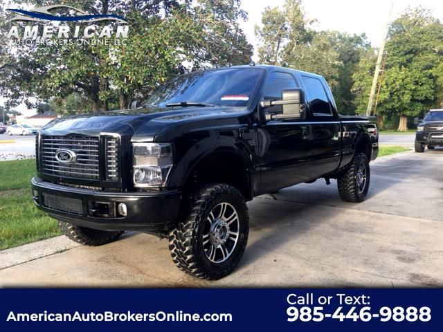 2008 Ford F-350 SD LARIAT CREW CAB 4X4 LEATHER ROOF NAV!!!