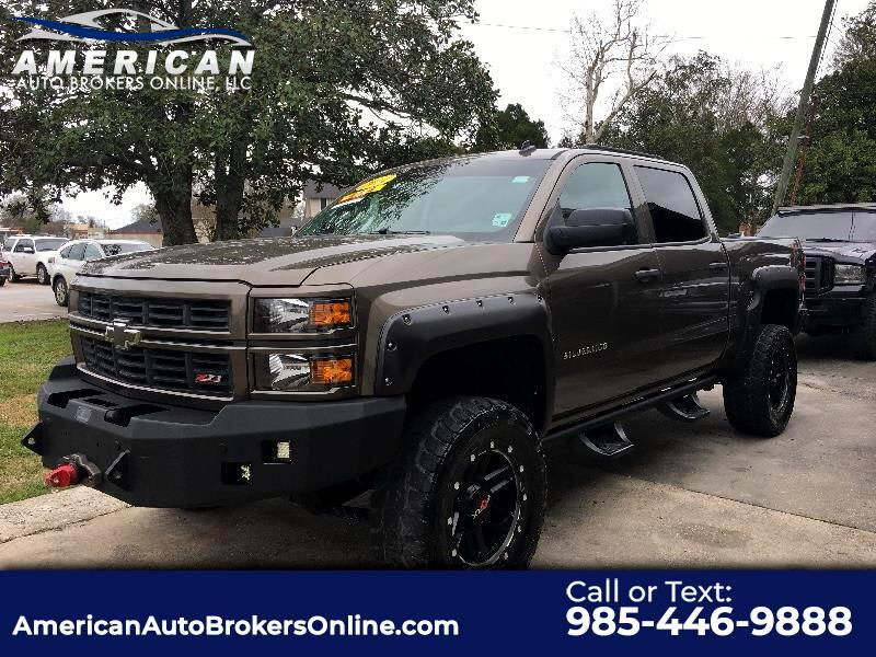 2014 Chevrolet Silverado 1500 LT CREW CAB 4WD LEATHER LIFT RIMS TIRES!!!