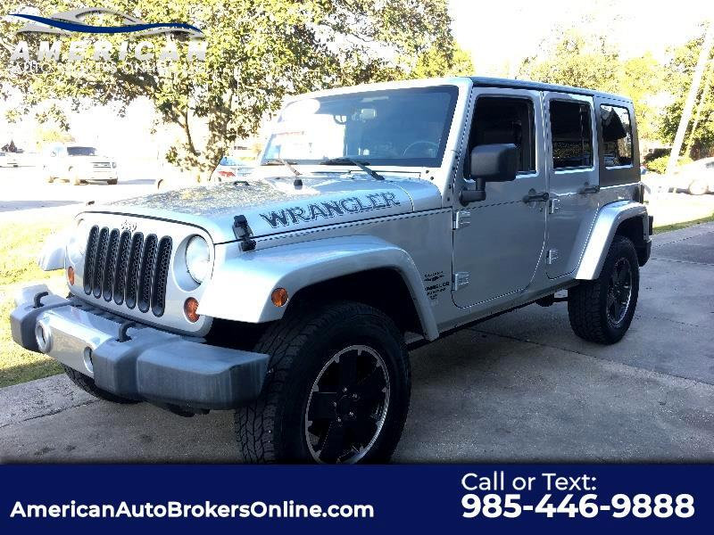 2009 Jeep Wrangler UNLIMITED SAHARA 2WD CLEAN AUTO CHECK!!!