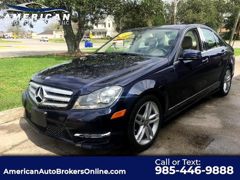 2013 Mercedes-Benz C-Class C250 SPORT SEDAN HAS REBUILD TITLE SUPER CLEAN!!!