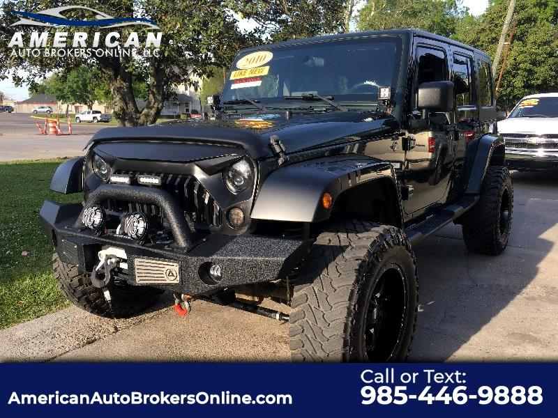 2010 Jeep Wrangler Unlimited Sahara 4x4