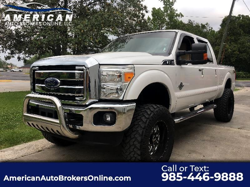 2014 Ford F-250 SD LARIAT CREW CAB FX4 DIESEL LIFT RIMS DELETED!!!