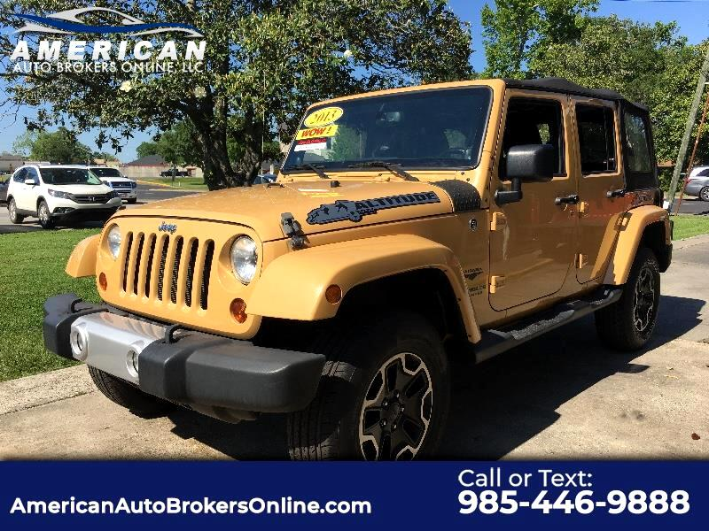 2013 Jeep Wrangler UNLIMITED SAHARA 4X4 CLEAN AUTOCHECK!!!