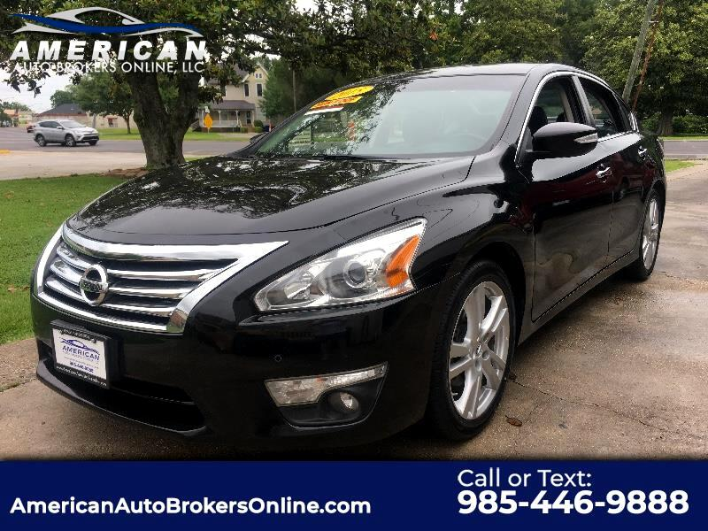 2015 Nissan Altima 3.5 SL ALLOY RIMS LEATHER ROOV NAV CLEAN AUTO CHEC