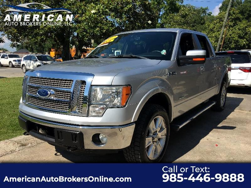 2012 Ford F-150 LARIAT SUPERCREW 4WD LEATHER NEW TIRES!!!
