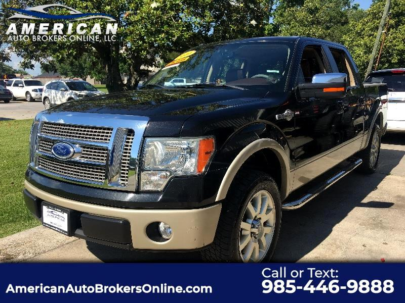 2010 Ford F-150 KING RANCH SUPERCREW 2WD LEATHER ROOF!!!