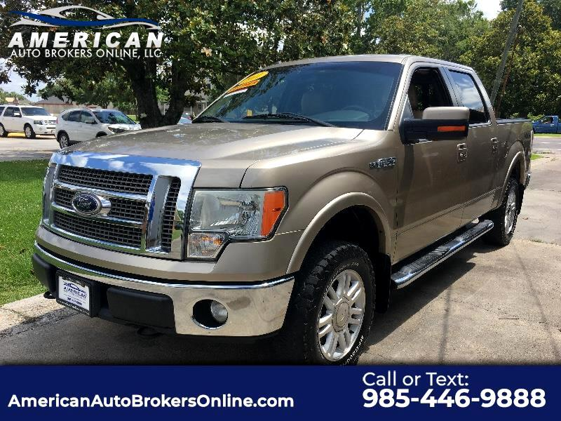 2011 Ford F-150 LARIAT SUPERCREW 4X4 OFF ROAD!!!