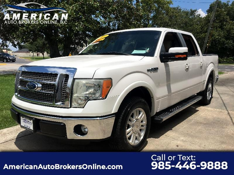 2011 Ford F-150 LARIAT CREW CAB 1 OWNER CLEAN AUTOCHECK!!!