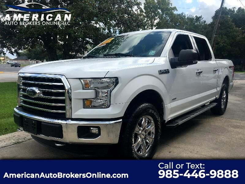 2016 Ford F-150 XLT SUPERCREW 4WD NAV 1 OWNER CLEAN AUTOCHECK!!!
