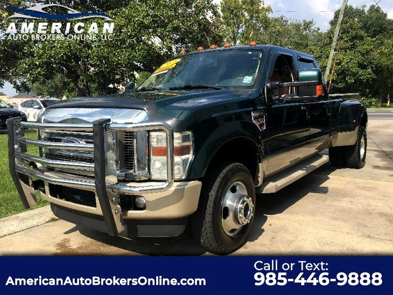 2008 Ford F-350 SD KING RANCH FX4 DIESEL DUALLY ONE OWNER CLEAN AUTOC