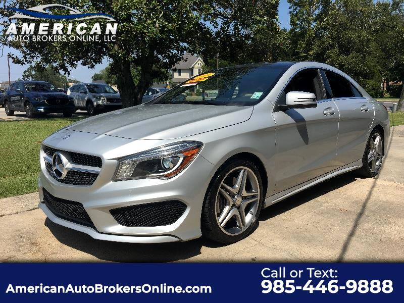 2014 Mercedes-Benz CLA-Class CLA250 LEATHER ROOF CLEAN AUTOCHECK ONE OWNER!!!