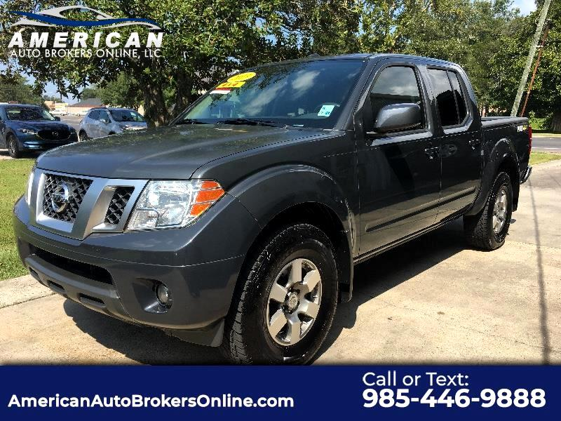 2013 Nissan Frontier SL PRO-4X CRE CAB 4WD BACKUP CAMERA ALLOY WHEELS!!