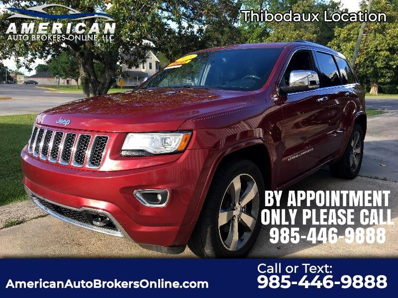 Jeep Grand Cherokee Overland 2WD 2015