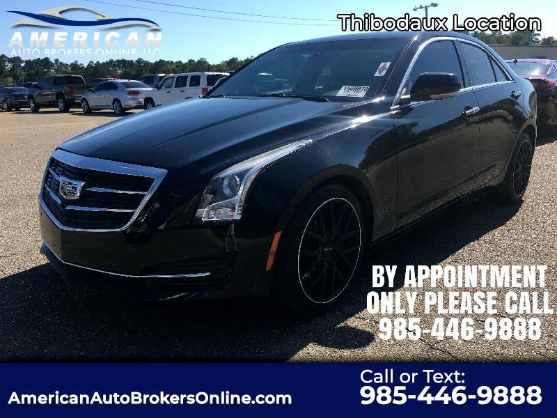 Cadillac ATS 2.0L Turbo Luxury AWD 2015
