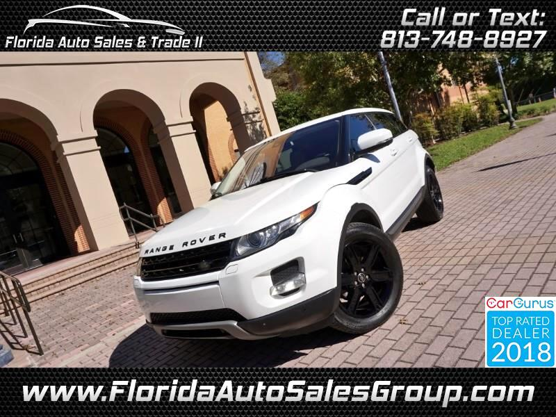 2013 Land Rover Range Rover Evoque Pure Premium 5-Door