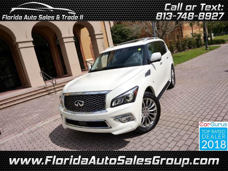 2015 Infiniti QX80 Driver's Assistance Package