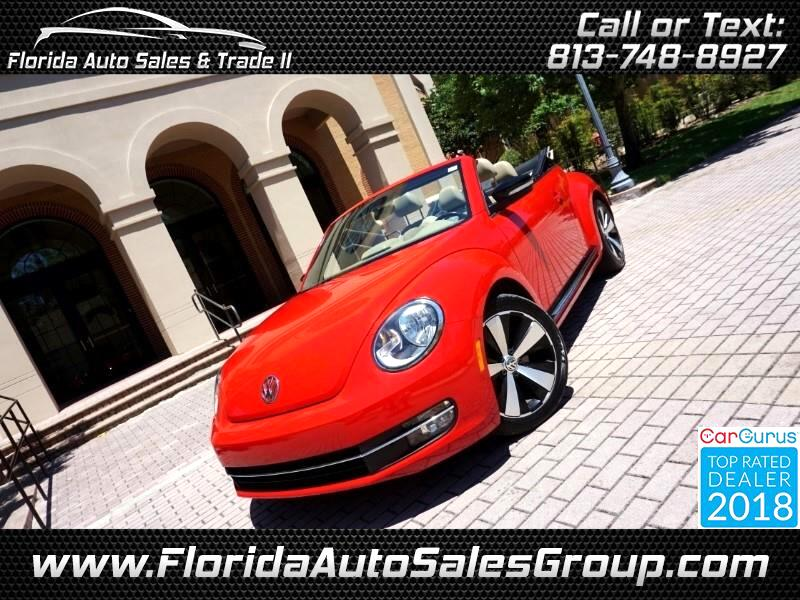 2013 Volkswagen Beetle R-Line PZEV Convertible 6A w/Sound & Nav