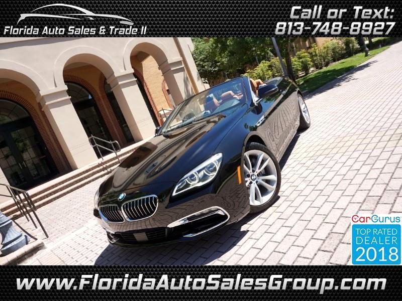 2016 BMW 6-Series 640i Convertible
