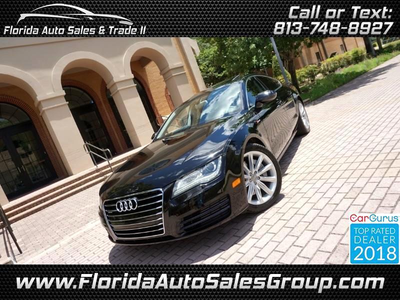2012 Audi A7 3.0T Premium Plus Quattro