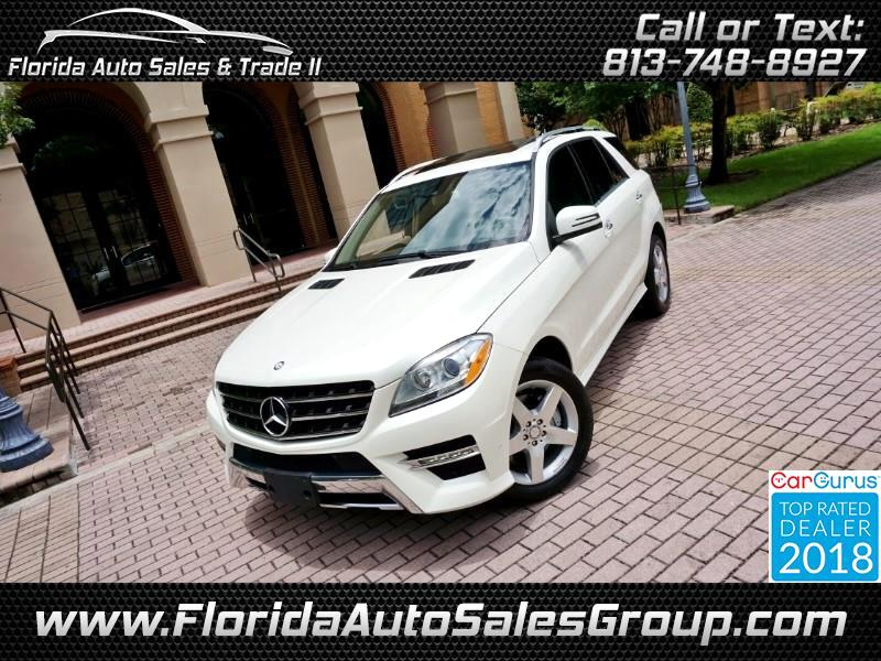 2014 Mercedes-Benz M-Class ML350 AMG Styling Package