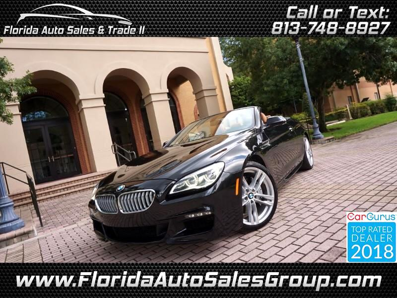 2016 BMW 6-Series 650i Convertible