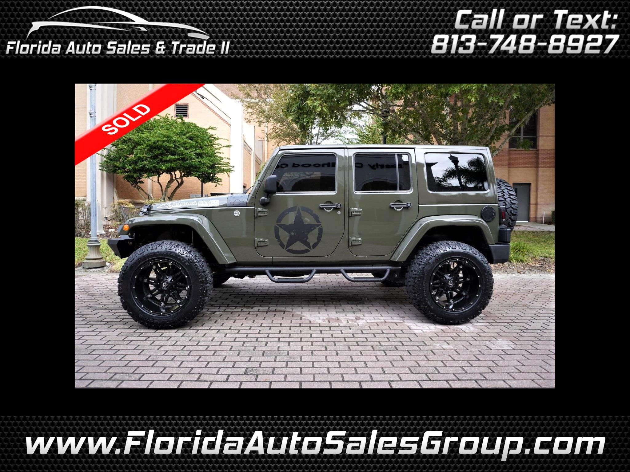 Jeep Wrangler Unlimited Sahara 4x4 2016