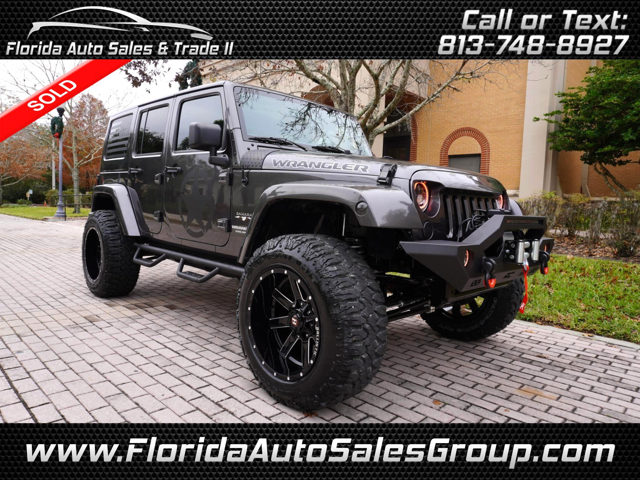 Jeep Wrangler Unlimited Sahara 4x4 2017