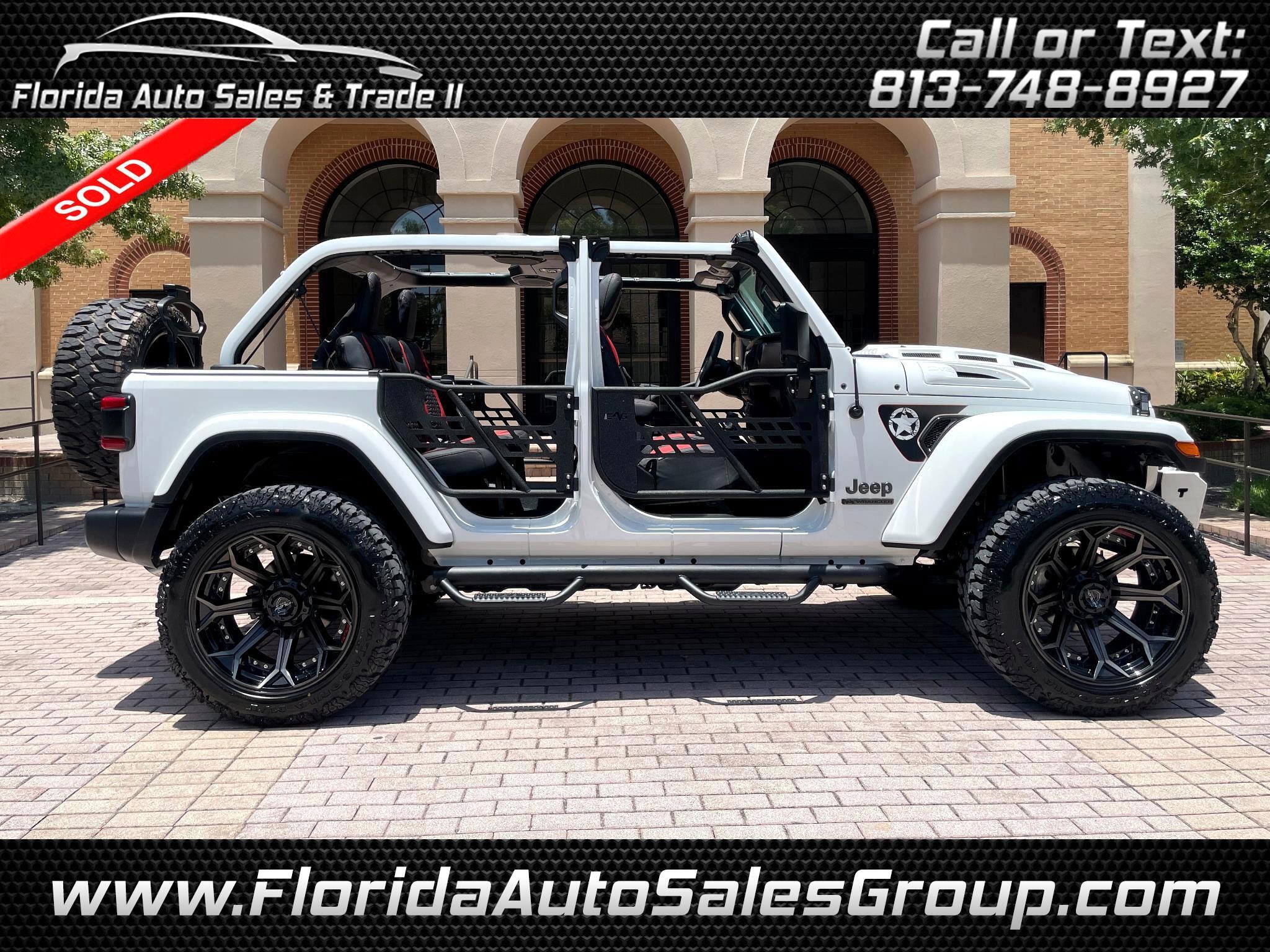 Jeep Wrangler Unlimited 80th Anniversary 4x4 *Ltd Avail* 2021