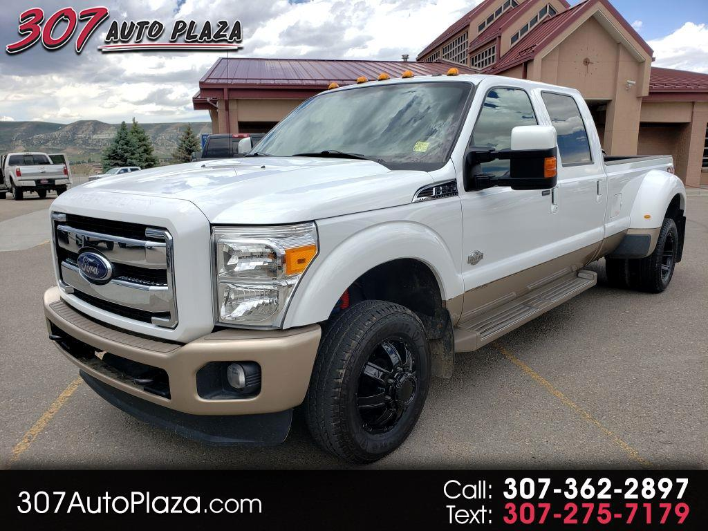 2014 Ford F-350 SD King Ranch Crew Cab Long Bed DRW 4WD