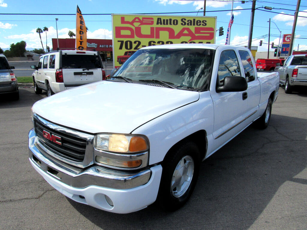 2003 GMC Sierra 1500 SLE Ext. Cab Long Bed 2WD