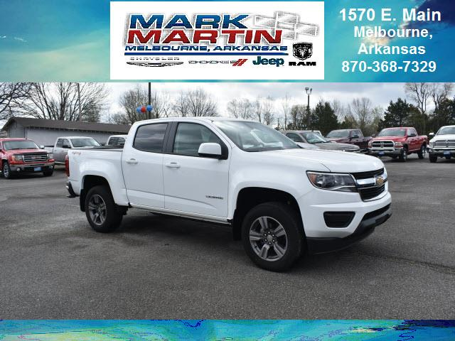 2017 Chevrolet Colorado 4x4 Work Truck 4dr Crew Cab 5 ft. SB