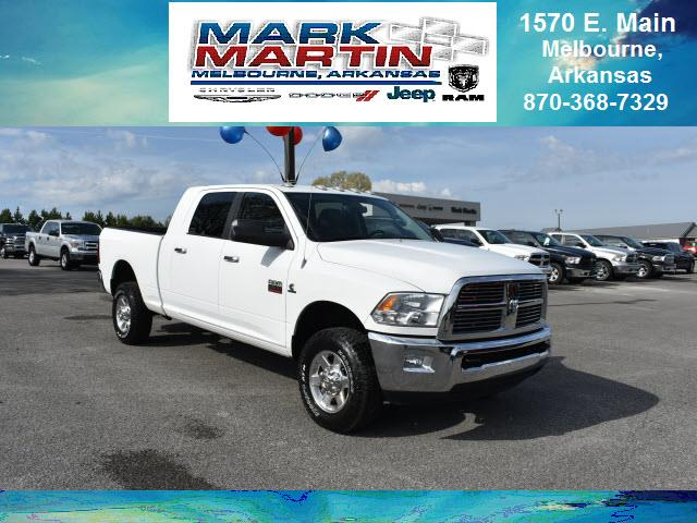 2012 RAM 2500 4x4 Big Horn 4dr Mega Cab 6.3 ft. SB Pickup