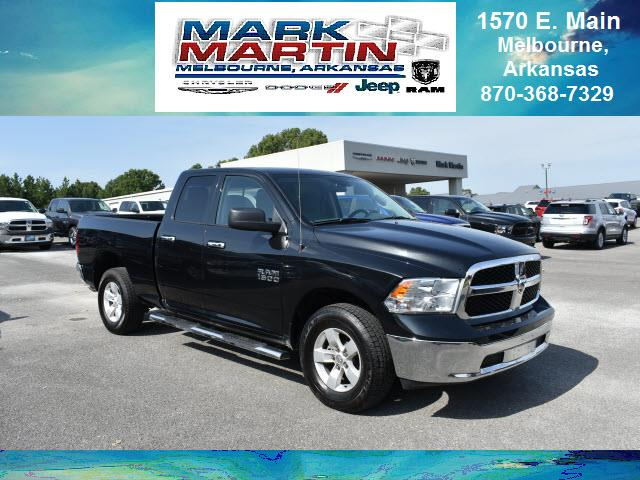 2017 RAM 1500 4x4 SLT 4dr Quad Cab 6.3 ft. SB Pickup