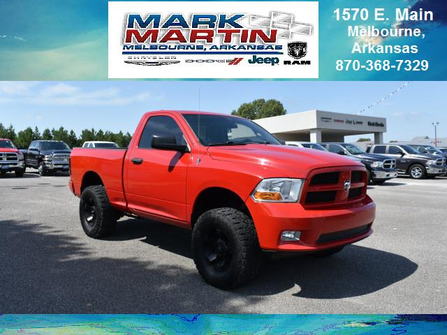 2011 RAM 1500 4x4 Adventurer 2dr Regular Cab 6.3 ft. SB Pickup
