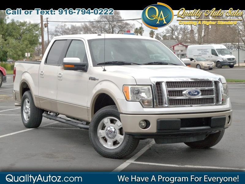 2010 Ford F-150 Lariat Pickup 4D 5 1/2 ft