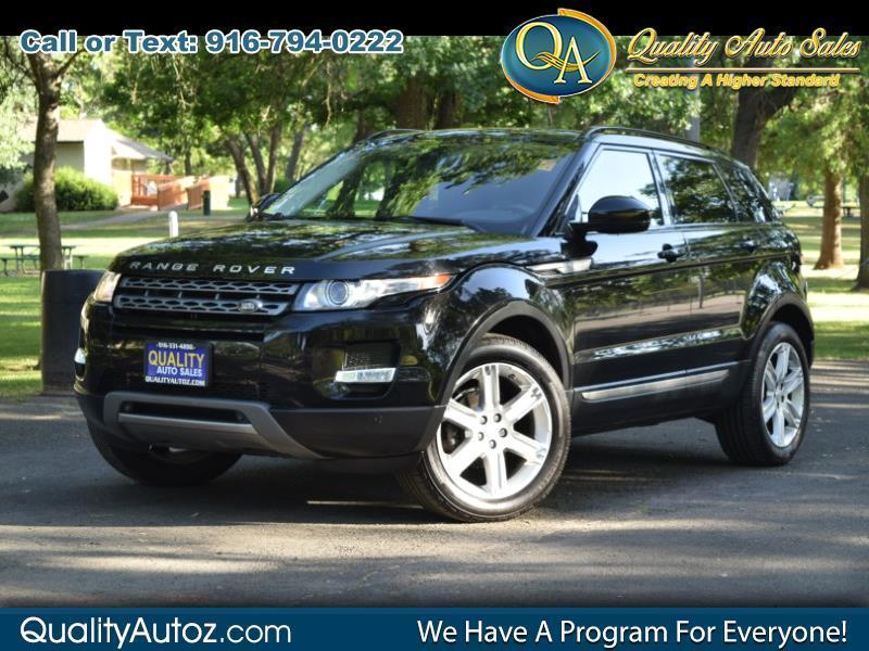 2015 Land Rover Range Rover Evoque Pure Plus Sport Utility 4D