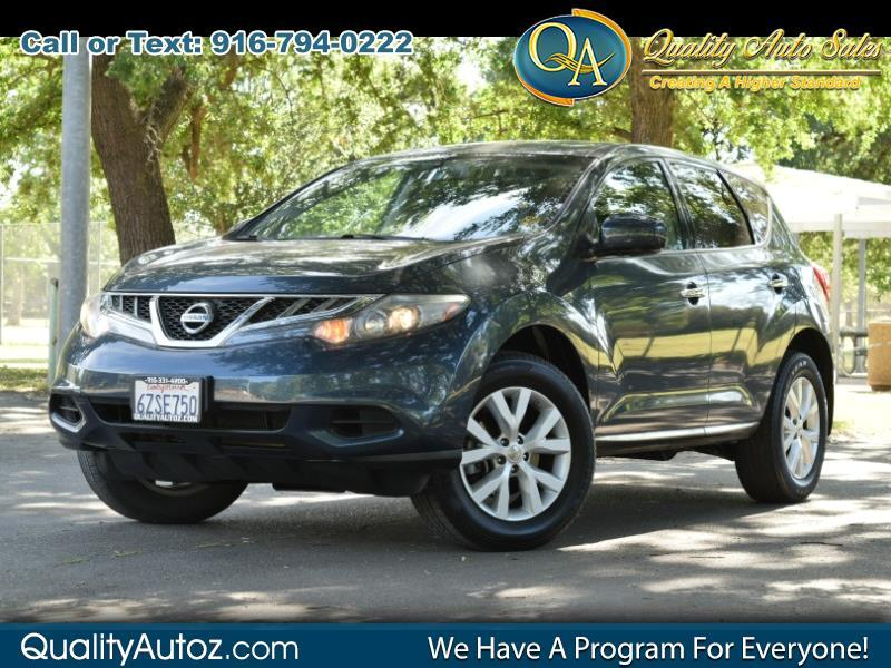 2012 Nissan Murano S Sport Utility 4D
